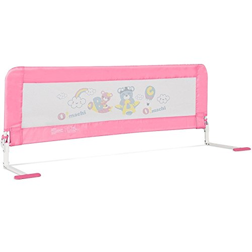 Toddler Bed Rail-Pink SBP-289 by COSTWAY (Image #6)