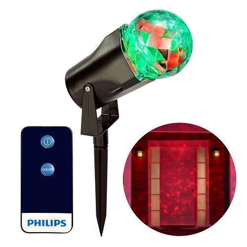 S4 Lights Inc. Philips Remote Control LED Motion Projector Shimmering Effect with 6 -