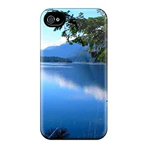 ZCyMVMN1301UkeAD ConnieJCole Awesome Case Cover Compatible With Iphone 4/4s - Nanaimo River
