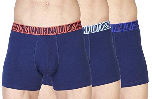 Colori Uomo 3 Ronaldo Diversi Cristiano pack lightblue 49 Basic Da E Aderenti Molti Cr7 Boxer 8100 Disegni Blue zwUxx