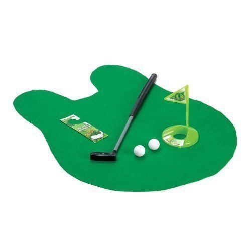 TV Time Direct Potty Putter Toilet Golf - Golf Club Sport Toy Set B07FTSKQTT
