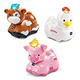 VTech 80-207350 Go Smart Farm Animals 3-Pack, Multicolored