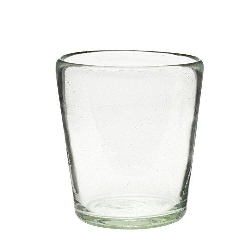 Amici Home 7MCR850S6R Veracruz Dof Glass Drinkware, 12 oz, Clear