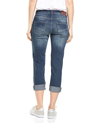 mid Blue Donna Cecil Blu Straight Jeans Wash 10283 wUSvIvHqxp