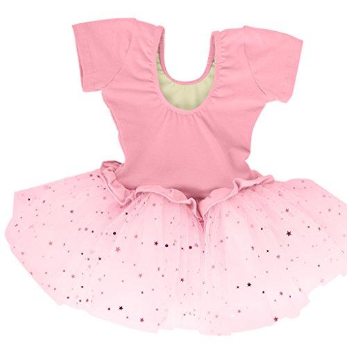 Dancina-Girls-Skirted-Leotard-Sparkle-Short-Sleeve-Tutu-Ballet-Dress-Front-Lined
