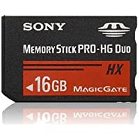 Sony PRO-HG Duo HX 16 GB Memory Stick MSHX16G (Black)