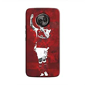 Cover It Up - Granit Xhaka Red Moto X4 Hard Case