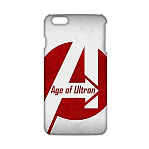 SHOWER 2015 New Arrival avengers age of ultron 3D Phone Case for iphone 6 plus