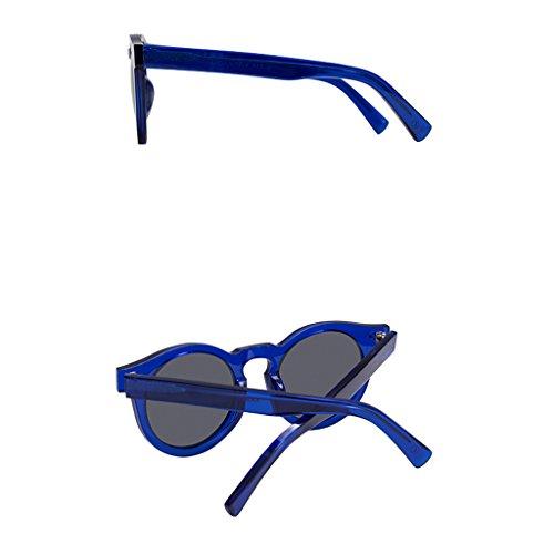 de Vintage lunettes polarisant de verres Mesdames conduite lunettes ronds Groovy Hommes rétro de soleil soleil A soleil polarisées mode lunettes Ultralight PPxTf
