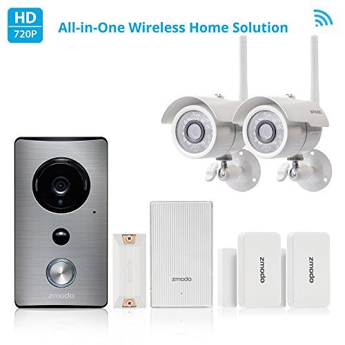 Zmodo All-in-One Home Solution-Zmodo Greet WiFi Video Doorbe