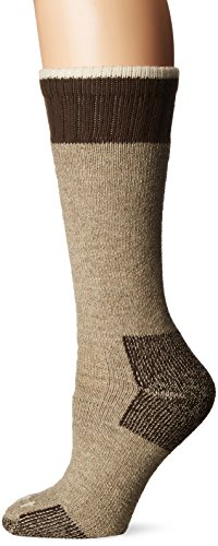 Extreme All Weather Boots - Carhartt Women's Extremes Cold Weather Boot Sock, 1 Pair, Khaki, Shoe Size: 4-9
