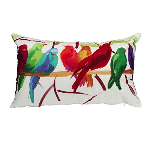 Napoo Clearance Bird PrintSuper Soft Square Throw Pillow Case Decorative Cushion Cover ()