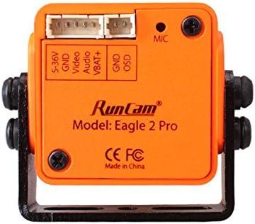 RONSHIN RunCam Eagle 2 PRO 800TVL CMOS 16:9// 4:3 NTSC//PAL Switchable Super WDR FPV Camera Low Latency
