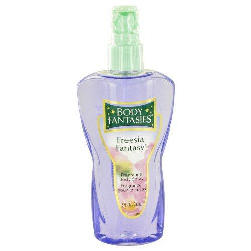 Freesia Body Spray - Body Fantasies Freesia Fantasy - Parfums De Coeur - 8 Fl Oz.236 Ml