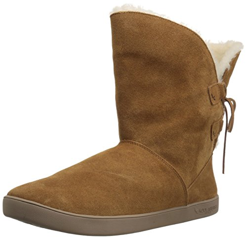 Chestnut Koolaburra Boots (Koolaburra by UGG Women's Shazi Short Fashion Boot, Chestnut, 06 M US)