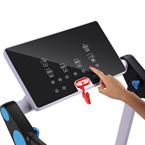 Garain S6400 Folding Electric Treadmill, Bluetooth App Control Touch Screen Exercise Equipment Walking Running Machine Home Fitness Treadmills (US STOCK) by Garain (Image #2)