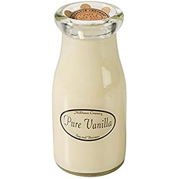 Pure Vanilla Milkbottle Candle by Milkhouse Creamery