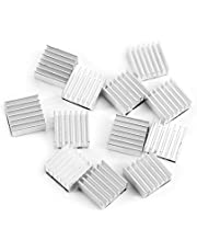 12pcs Heatsink Small Aluminum Heatsink Aluminum 14x14x6mm Chipset Heatsink Peltier Heat Sinks Cooling