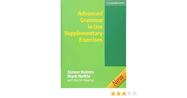 Advanced Grammar in Use Supplementary Exercises without Answers ...