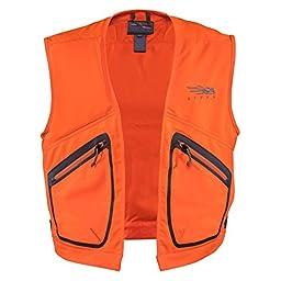 Sitka Ballistic Vest, Blaze Orange Large