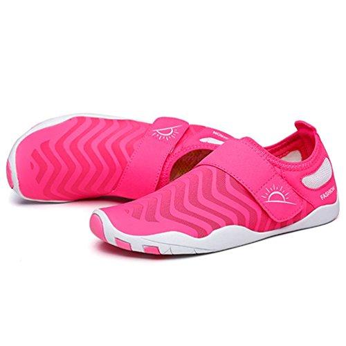 Water Qianliuk Yoga Short Socks Women Beach Swimming Shoes Pink1 Summer Shoes x8AWOa8qr