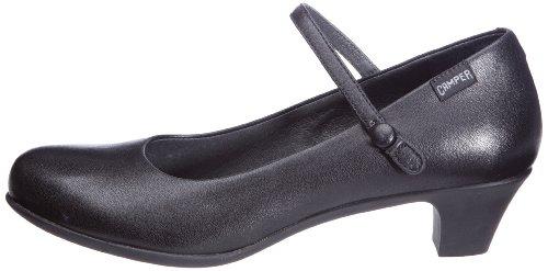 Camper Chaussures 022 20202 Taille Helena 20202 pass Unique Cuir 22 Noires Habilles En Black Pour Femmes wqrtrIx