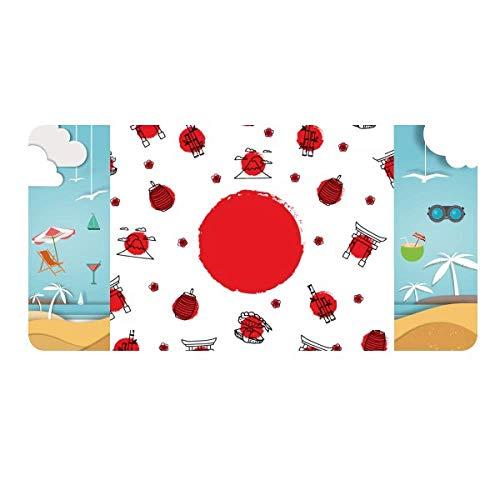 DIYthinker Japan Culture National Flag Lantern License Plate Car Decoration Beach Sea Holiday (Japan National Stainless)