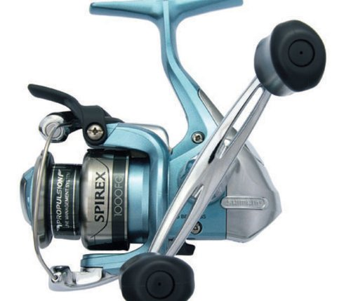 Shimano Spirex FG Spinning Reel (6.2:1), Medium Light, 4 Pounds/140 Yards