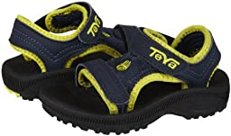 Teva Kids Baby Boy\'s Psyclone 2 (Infant/Toddler) Navy Sandal 2 Infant M