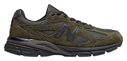 New Balance Men's M990v4 Running Shoe, Green, 10 D US -  M990MG4
