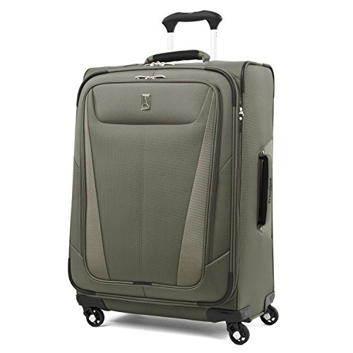 Travelpro Maxlite 5 25'' Expandable Spinner Suitcase, Slate Green by Travelpro