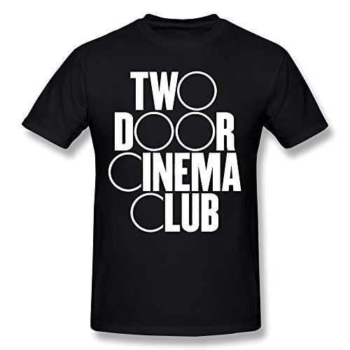 PAYYAND Men's Two Door Cinema Club Band T-shirt