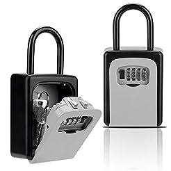 Key Lock Box, Combination Lockbox with C...