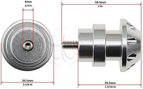 2010 Dos bobinas de 6 mm CNC para Triumph Street Triple 675 2006