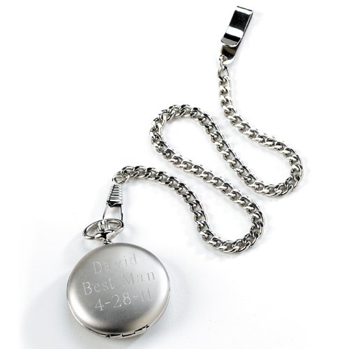 Silver Pocket Watch - Free Eng
