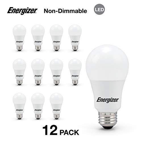 8-Pack Energizer Light Bulbs BR30 65 Watt Equivalent LED Light Bulb Non-Dimmable Soft White