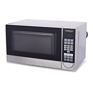Premium PM70710 0.7 Cu. Ft. Counter Top Microwave Oven, Stainless Steel 10