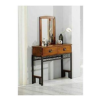 Muebles Baratos Comoda con Espejo Incluido, 2 cajones, Color ...