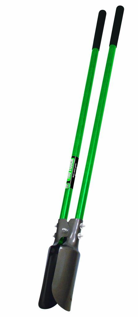 Truper 32406 Tru Tough Atlas Pattern Post Hole Digger, Fiberglass Handles, 10-Inch Grip