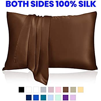 Amazon Com Lulusilk Mulberry Silk Pillowcase For Hair And