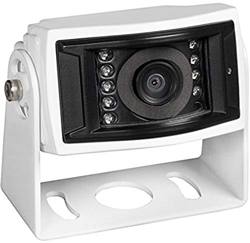 Voyager VCCS155 Color CCD IR LED Camera, White, 1/4