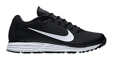 Nike Lemmet Grasmat 17 Heren Honkbal-schoenen 880262-010_11.5 - Zwart / Wit-zwart