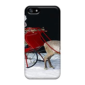New Arrival Cover Case With Nice Design For Iphone 5/5s- Santa Claus Arrival