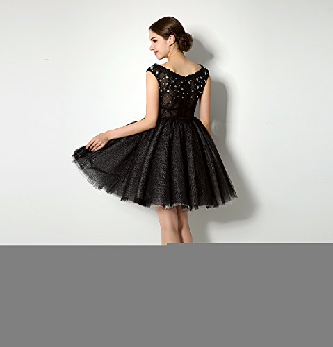 Love Dress Beading Black Short Prom Dress Party Gown Us 16 by Love To Dress (Image #5)