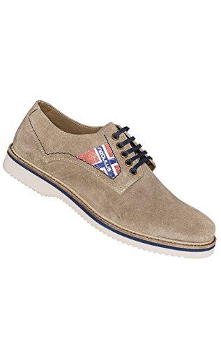 Nebulus Zapatos de cordones Merano Taupe EU 42