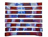 Towel BandIt Beach Towel Holder Groovy Waves 8-Pack