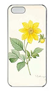 iPhone 5 5S Case nature flower colorful 18 PC Custom iPhone 5 5S Case Cover Transparent