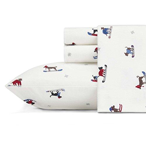 Eddie Bauer Ski Patrol Sheet Set, Queen, Multicolor