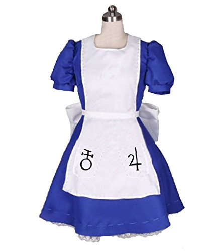 HOLRAN Alice Madness Returns Alice Cosplay Costume Dress -