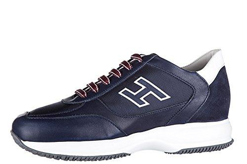 Hogan zapatos zapatillas de deporte hombres en piel nuevo new interactive h floc